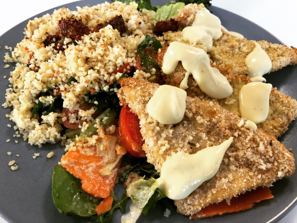 Rántott tofu